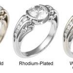 Les 5 plus grandes différences entre les bagues en or blanc et les bijoux en platine